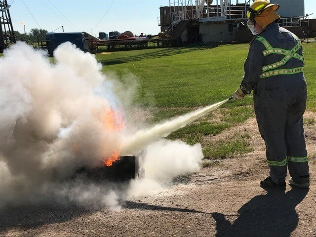 Fire Extinguisher Course MI Safety Edmonton or Devon