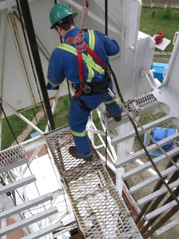 Fall Protection for Rig Work in Edmonton from MI Safety